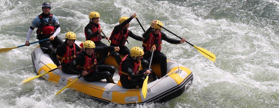 Rafting Rio Miño